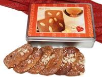 Geschenkidee aus Bad Ischl: Lebkuchendose gefüllt mit Ischler Elisen-Lebkuchen