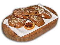 Ischler Lebkuchen: Elisen auf Oblaten gebacken