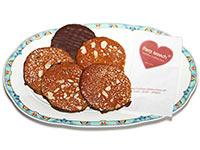 Bestseller: Elisen-Lebkuchen mit Schokoladen-Boden aus Bad Ischl