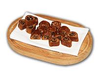 Ischler Lebkuchen: Fruchtstollen