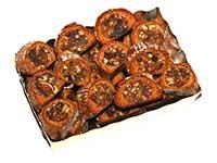 Ischler Lebkuchen: Fruchtstollen in Goldschale