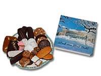 Geschenkidee aus Bad Ischl: Geschenkbox gefüllt mit köstlichem, gesundem und süßem Lebkuchen