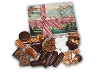 Geschenkidee aus Bad Ischl: Zierkarton gefüllt mit Ischler Lebkuchen