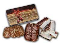 Große Weihnachtsdose mit verschiedenen Ischler Lebkuchen