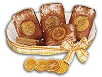 Herrenkuchen: Ischler Lebkuchen mit Orangen