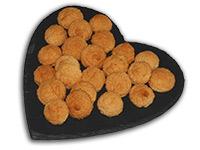 Ischler Lebkuchen: Kokosbusserl