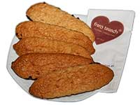 Ischler Lebkuchen: Kokosstangerl