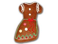 Eine Geschenkidee aus dem Hause Franz Tausch, Ischler Lebkuchen: Lebkuchen-Dirndlkleid