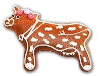 Lebkuchen-Kuh