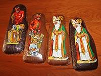 Nikolaus-Set aus Lebkuchen