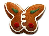 Lebkuchen-Schmetterling