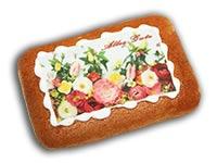 "Lebkuchen-Bild ""Alles Gute"""