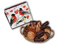 Geschenkidee für Vogelfreunde: Lebkuchenbox gefüllt mit Original Ischler Lebkuchen