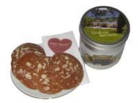 Geschenkidee aus Bad Ischl: Lebkuchendose gefüllt mit köstlichem, gesundem und süßem Lebkuchen