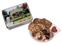 Geschenkidee aus der Kaiserstadt Bad Ischl: Lebkuchendose gefüllt mit traditionellem Lebkuchen