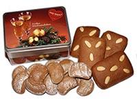 Geschenkidee für Weihnachten: Lebkuchendose gefüllt mit köstlichem, gesunden und süßem Lebkuchen aus Bad Ischl