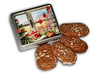 """Lebkuchendose """"Weihnachtsfenster"""""""