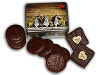Süße Wichteldose mit Schoko-Lebkuchen