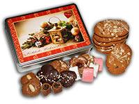 Geschenkidee für Weihnachten: köstlich gefüllte Lebkuchendose