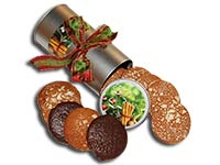 Elisen-Lebkuchendose für Weihnachten