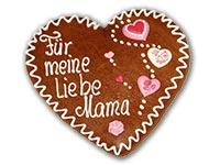 Geschenkidee zum Muttertag: Lebkuchenherz