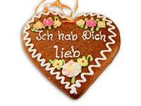 Geschenkidee für Verliebte: ein Lebkuchenherz