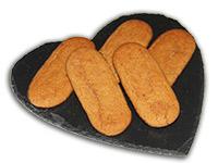 Ischler Lebkuchen: Mandelstangerl