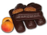 Marillenstangerl: Ischler Lebkuchen mit Marillenmark und Schokoladenüberzug