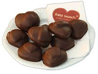 Lebkuchen mit Fruchtfülle und Schokoladenüberzug