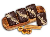 Schoko-Nuss-Lebkuchen: Ischler Lebkuchen mit Nüssen und Schokolade