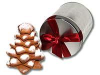 Lebkuchen-Weihnachtsbaum in Dose