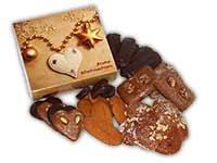 Weihnachtliche Lebkuchen-Geschenkbox