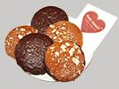 Ischler Lebkuchen - gemischter Elisen-Lebkuchen